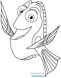 Finding Dory Coloring Pages Free Printable Coloring Pages Free