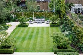 Small Picture Formal Square Lawn Randle Siddeley