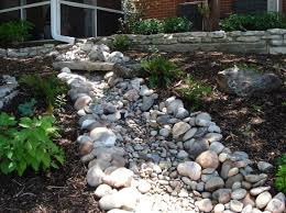 Small Picture Amazing Dry River Bed Garden as Your Landscaping Design River