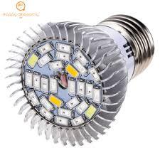 <b>E27 LED Grow</b> Light Bulb <b>Plant</b> Veg Flower Hydroponic Indoor ...