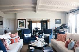 Navy And White Living Room  Luxury Home Design Ideas Navy And White Living Room