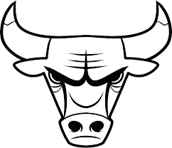 coloring pages of basketball. Brilliant Basketball Bull Coloring Pages Free Page Basketball Bulls Logo Rider Throughout Of