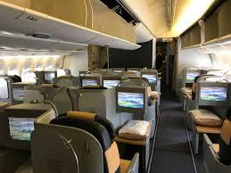 Alitalia Flight Seating Chart Review Alitalia 777 Business Class Rome To Los Angeles