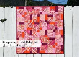 Disappearing 9 Patch Baby Quilt Charm Pack Cherry Quilt Tutorial ... & Disappearing 9 Patch Baby Quilt Charm Pack Cherry Quilt Tutorial Charm Packs  For Baby Quilts Uk Adamdwight.com