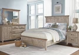 Nantucket Breeze Bisque 5 Pc King Panel Bedroom - King Bedroom Sets ...
