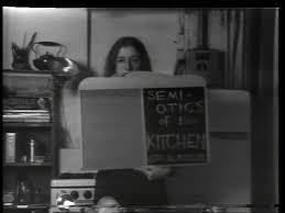 Superb Martha Rosler. Semiotics Of The Kitchen. 1975