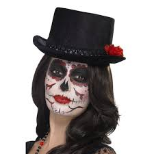 Day Of The Dead Top Hat Costume Ideas In 2019 Top Hat