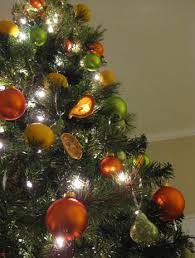 Citrus Christmas Tree: Making Dried Orange Slice Ornaments