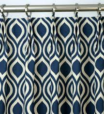 Navy Blue Patterned Curtains Stunning Navy Blue And Cream Patterned Curtains Navy And Grey Blackout