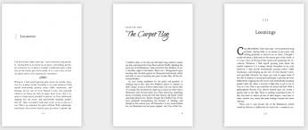 Book Design Templates Word Templates Help Indie Authors Avoid Book Composition Errors