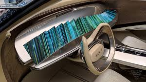 How To Get Into Car Design Kia Turned 21 Phone Screens Into A Concept Car Dashboard