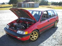 1991 Honda Civic Wagon RT4WD This pretty lady's got 4 of my ...
