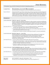 8 Account Manager Resume Sample Letter Adress