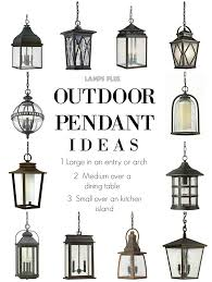 Large Hanging Front Porch Lights Outdoor Lighting Outdoor Pendant Ideas From Lampsplus
