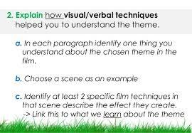 bend it like beckham theme essay task  essay question 7 2