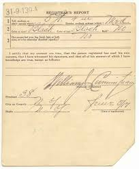 world war i draft cards marcus garvey national archives back of card