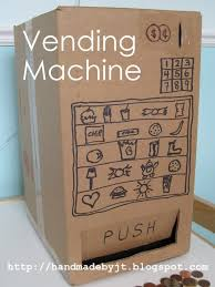 How To Make A Cardboard Vending Machine Classy My Handmade Home Day 48 Of Cardboard Vending Machine Картон детям