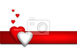 corazones de san valentin fotos san valentin corazones rojo und blanco etiqueta sobre fondo