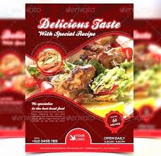 Restaurant Menu Design Templates Restaurant Menu Design Templates New Restaurant Brochure Template