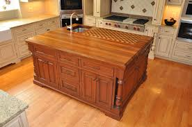 Cutting Board Cabinet The Trendy Look Of Butcher Block Countertops Cabinets By Graber