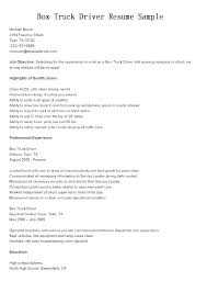 Sample Bus Driver Resume Resume Format For Driver Sample Bus Resumes