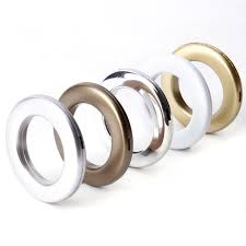 20x round shape eyelet curtain rings clips grommet blinds dry accessories