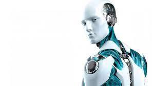 Male Robot 3D Desktop HD Wallpaper