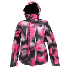 Details About Dc Fuse Womens Snow Jacket Size Xs 6 8 Pink Black Warm Snow Board Ski Mountain
