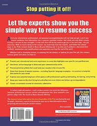 The Guide To Basic Resume Writing Public Library Association