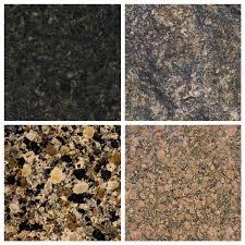 dark speckled granites