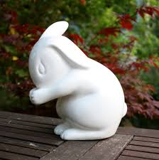 white rabbit england rabbit lamp