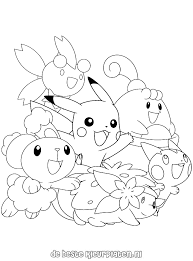 Pokemon0011 De Beste Kleurplaten