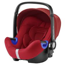 britax romer baby safe i size car seat flame red with summer infant elite duomat