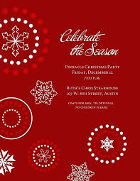 Free Holiday Party Templates Printable Christmas Invitation Template Gotostudy Info