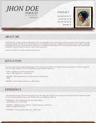 Resume Format Template Free Best Photos of Latest CV Template CV Format Latest Sample Resume 89