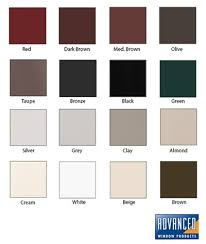 Exterior Colors for Windows