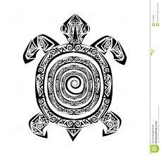 Tattoo черепахи иллюстрация вектора иллюстрации насчитывающей