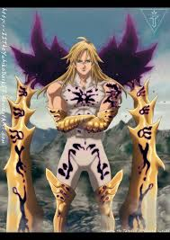 After the team disbanded, he was jailed in the baste dungeon, only to be freed again by. Pin On Nanatsu No Taizai