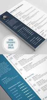 50 Best Resume Templates | Design | Graphic Design Junction