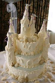 Sandcastle Wedding Cake Photo Garrett Lau Photos At Pbasecom