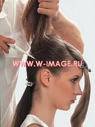 Мастер класс вечерняя прическа на длинные волосы МАСТЕР  3 Горизонтальным пробором в средней затылочной зоне все волосы разделите на 2 части верхнюю и нижнюю