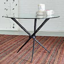 diy table base for glass top awe inspiring 18 sleek dining tables modern minimalist home interior