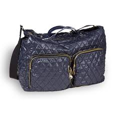Three Quilted Crossbody by Clava & Navy Quilted Nylon 331002_NAVY_QUILTED_NYLON_GYM_BAG_FRONT_VIEW  331002_NAVY_QUILTED_NYLON_GYM_BAG_INTERIOR_VIEW  331002_NAVY_QUILTED_NYLON_GYM_BAG_MANNEQUIN ... Adamdwight.com
