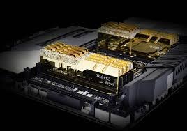 Show Technical Chart Of Trident Ltd G Skill Announces New Trident Z Royal Ddr4 Ram Kits Clocked