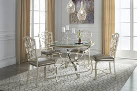 12 round dining room table for 4 shollyn silver round dining room table u0026 4 uph