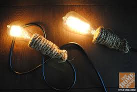 haunted house lighting. DIY Pendant Lights With Rope Used In The Love Manor Haunted House Lighting R