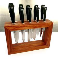 under cabinet knife holder block high quality kitchen knives best chopping storage