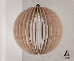 Contemporary Wood Pendant Light Light Ball Is A Wood Pendant Light For Modern Stylist Design Style