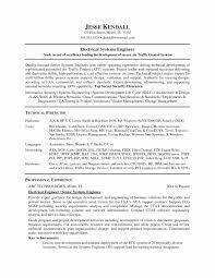 System Engineer Resume Example Engineering Resume Examples Unique System Engineer Resume Example 2