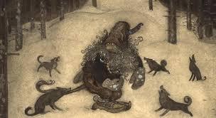Bildresultat för john bauer bland tomtar och troll
